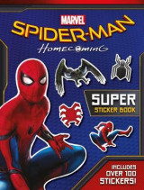 Omslag - Spider-Man: Homecoming Movie Sticker Book