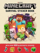 Omslag - Minecraft Survival Sticker Book