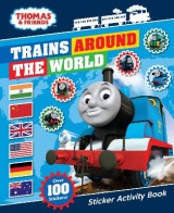 Omslag - Thomas & Friends: Trains Around the World Sticker Activity Book