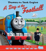 Omslag - Thomas the Tank Engine: A Day at the Football