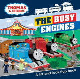 Omslag - Thomas & Friends Busy Engines Lift-the-Flap Book