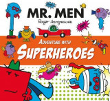 Omslag - Mr Men Adventure with Superheroes