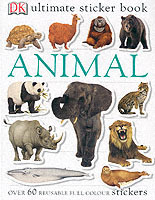 Animal Ultimate Sticker Book av DK (Heftet)