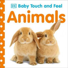 Baby Touch and Feel: Animals av DK Publishing (Pappbok)