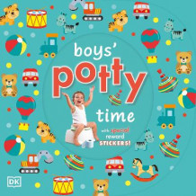 Boys' Potty Time av DK (Pappbok)