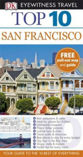 DK Eyewitness Top 10 Travel Guide: San Francisco av Jeffrey Kennedy (Heftet)