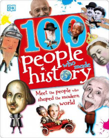 100 People Who Made History av DK (Innbundet)