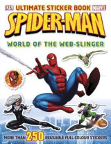Omslag - Spider-Man Ultimate Sticker Book World of the Web-slinger