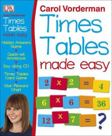 Carol Vorderman's Times Tables Made Easy av Carol Vorderman (Blandet mediaprodukt)
