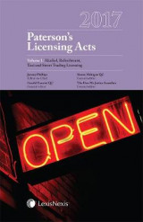 Omslag - Paterson's Licensing Acts 2017