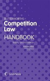 Omslag - Butterworths Competition Law Handbook