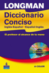 Omslag - Longman Diccionario Conciso Cased and CD-ROM