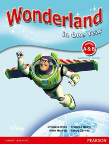 Wonderland in One Year Activity Book: Junior A & B av Cristiana Bruni, Izabella Hearn, Sandy Zervas og Anne Worrall (Heftet)