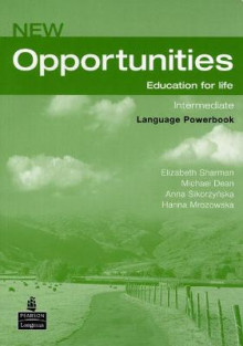 Opportunities Global Intermediate Language Powerbook Pack av Michael Dean, Hanna Mrozowska, David Mower, Elizabeth Sharman, Andrew Fairhurst, Anna Sikorzynska og Michael Harris (Blandet mediaprodukt)