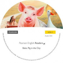 Level 2: Babe-Pig in the City CD for Pack: Level 2 av George Miller, Judy Morris og Mark Lamprell (Lydbok-CD)