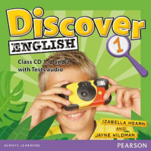 Discover English Global 1 Class CDs av Izabella Hearn og Jayne Wildman (Lydbok-CD)