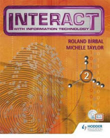Interact with IT: Bk. 2 av Michele Taylor og Roland Birbal (Blandet mediaprodukt)