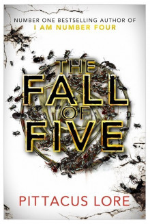 The fall of five av Pittacus Lore (Heftet)