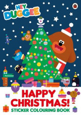Omslag - Hey Duggee: Happy Christmas! Sticker Colouring Book