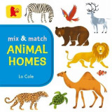 Omslag - Mix and Match: Animal Homes