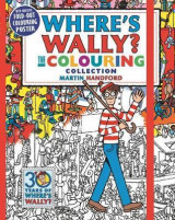 Omslag - Where's Wally? The Colouring Collection