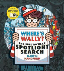 Where's Wally? The Spectacular Spotlight Search av Martin Handford (Innbundet)