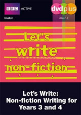 Omslag - Let's Write Non-fiction Years 3 and 4 DVD Plus Pack