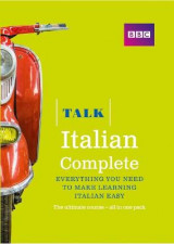 Omslag - Talk Italian Complete (Book/CD Pack)