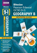 Omslag - BBC Bitesize Edexcel GCSE (9-1) Geography B Revision Guide for home learning, 2021 assessments and 2022 exams