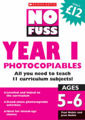 No Fuss: Year 1 Photocopiables av Jean Noble og Paul Noble (Heftet)
