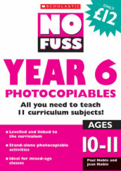 No Fuss: Year 6 Photocopiables av Jean Noble og Paul Noble (Heftet)