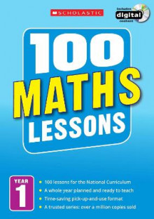 100 Maths Lessons: Year 1 av Ann Montague-Smith (Blandet mediaprodukt)