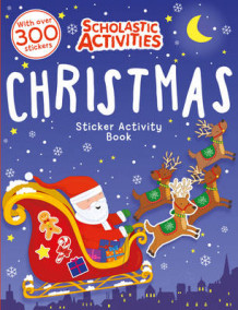Christmas Sticker Activity Book (Heftet)