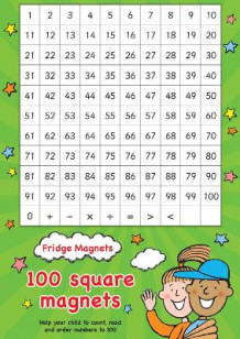 Fridge Magnets - 100 Square Maths Magnets av Scholastic (Undervisningskort)