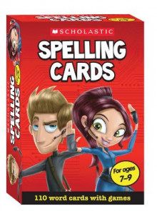 Spellings for Years 3-4 av Scholastic (Undervisningskort)