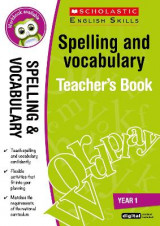Omslag - Spelling and Vocabulary Teacher's Book (Year 1): Year 1