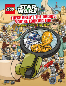 Lego Star Wars: These Aren't the Droids You're Looking for - a Search-and-Find Book av Ameet Studio (Firm) (Heftet)