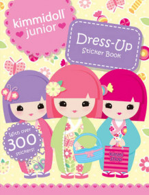 Dress-Up Sticker Book av Kimmidoll Junior (Heftet)