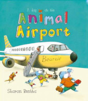A Day at the Animal Airport av Sharon Rentta (Heftet)