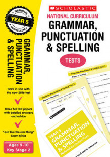 Grammar, Punctuation and Spelling Test - Year 5: Year 5 av Lesley Fletcher og Graham Fletcher (Heftet)