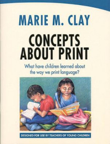 Concepts About Print: What Have Children Learned About the Way We Print Language? av Marie M. Clay (Heftet)