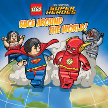 LEGO DC SUPER HEROES Race Around the World av Trey King (Heftet)