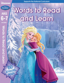 Frozen - English Vocabulary (Year 2, Ages 6-7) (Heftet)