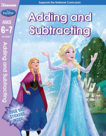Frozen - Adding & Subtracting (Year 2, Ages 6-7) (Heftet)