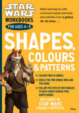 Omslag - Star Wars Workbooks: Shapes, Colours & Patterns - Ages 4-5: Ages 4-5