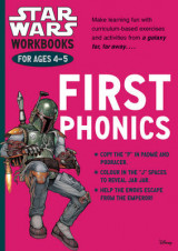 Omslag - Star Wars Workbooks: First Phonics - Ages 4-5: Ages 4-5