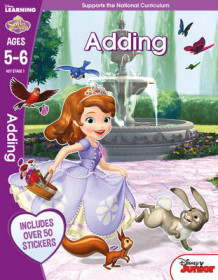 Sofia the First - Adding, Ages 5-6: Ages 5-6 (Heftet)