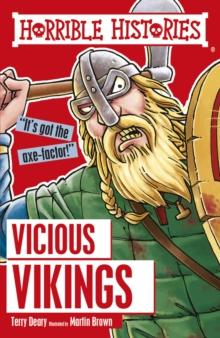 The vicious vikings av Terry Deary og Martin Brown (Heftet)