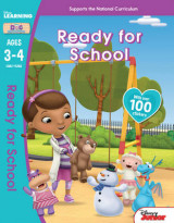 Omslag - Doc McStuffins - Ready for School, Ages 3-4