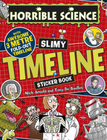 Slimy Timeline Sticker Book av Nick Arnold (Heftet)